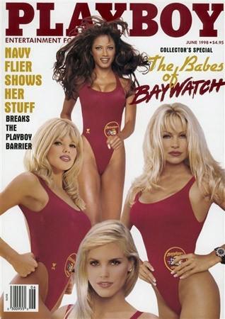 Photos : Pamela Anderson fait la couverture de Playboy en 1998
