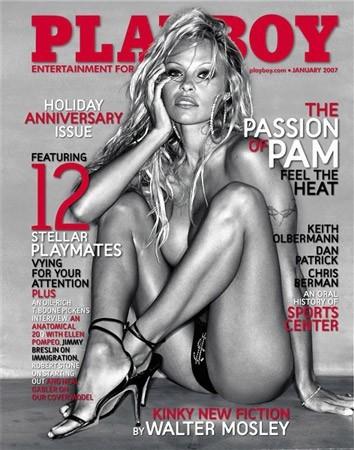 Photos : Pamela Anderson fait la couverture de Playboy en 2007