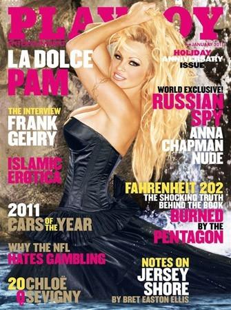 Photos : Pamela Anderson fait la couverture de Playboy en 2011