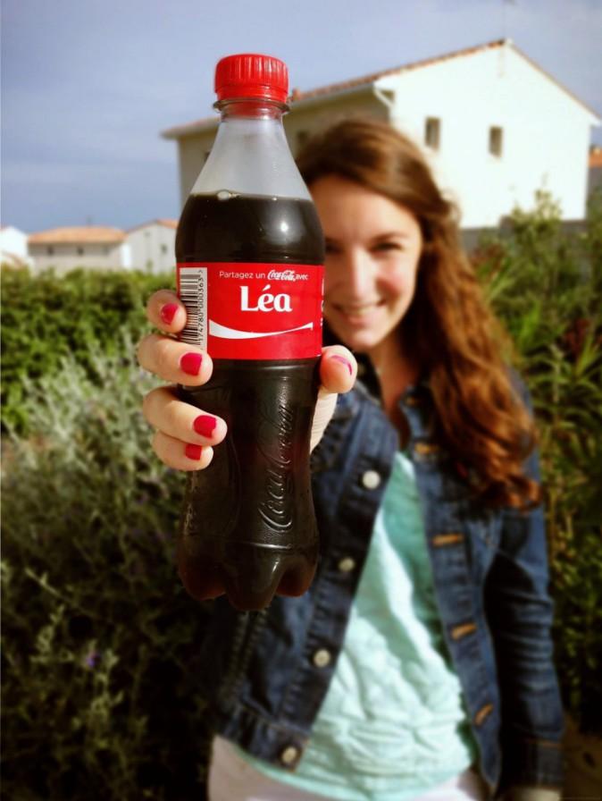 Celea, séléctionnée par Coca-Cola !