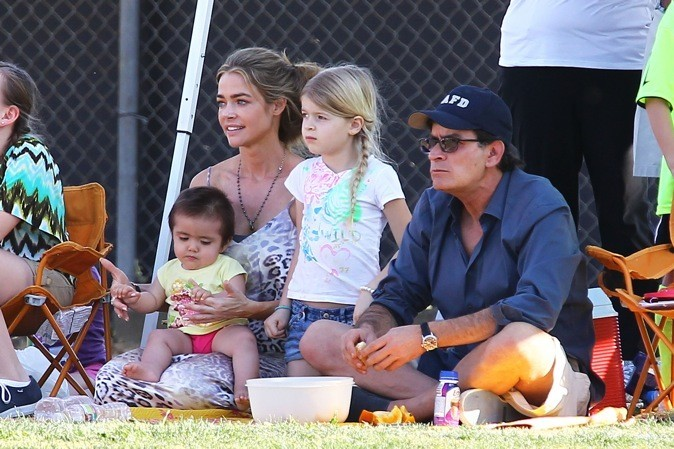 Denise Richards & Charlie Sheen !