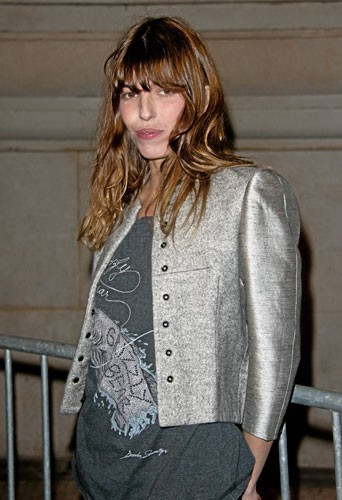 Fashion Week de Paris : Lou Doillon au défilé Etam