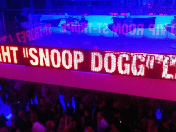 Elles ont fait la fête avec Snoop Dogg hier !