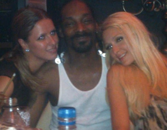 Avec Snoop Dogg !