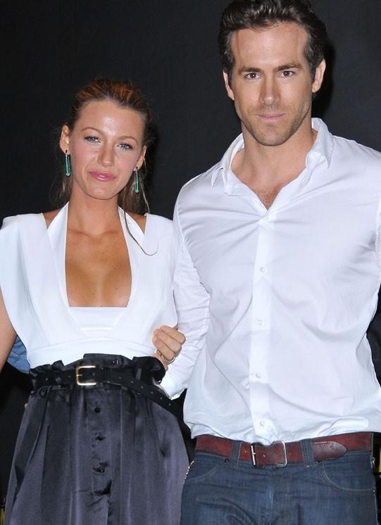 Blake Lively et Ryan Reynolds roucoulent au Canada...