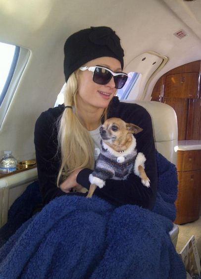 Paris Hilton s'est partagée entre la station de ski d'Aspen et Las Vegas