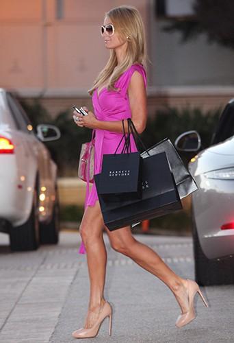 Paris Hilton à Los Angeles le 5 février 2014