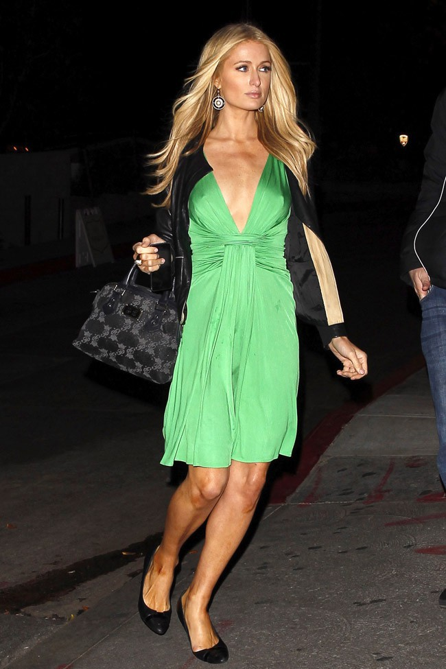 Paris Hilton à West Hollywood le 17 mars 2014