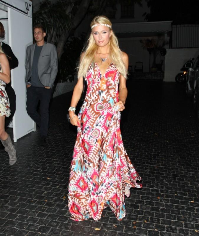Paris Hilton, Château Marmont, Los Angeles 22 aout 2012.