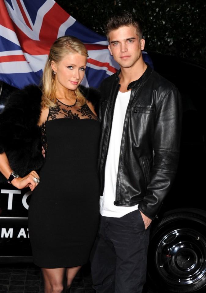 Paris Hilton et River Viiperi lors de la soirée Topshop à Los Angeles, le 13 février 2013.