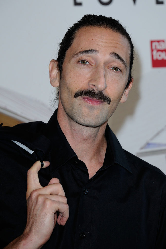 Adrien Brody au Love Ball à Paris, le 6 juillet 2016