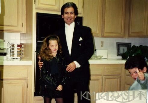 Khloé et son père