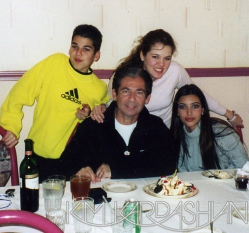 Kim, Robert, Khloé et Robert Jr