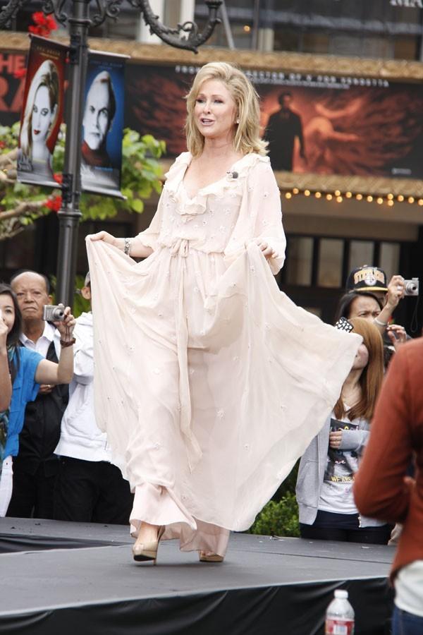 Kathy sur le catwalk !