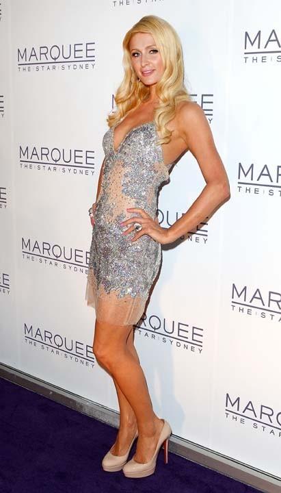 Paris Hilton à l'ouverture d'un nouveau casino de Sydney hier !
