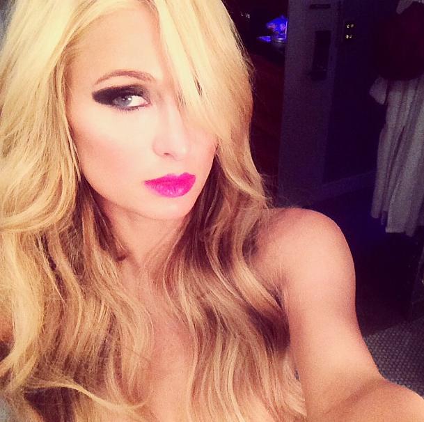 Paris Hilton le 25 septembre 2014