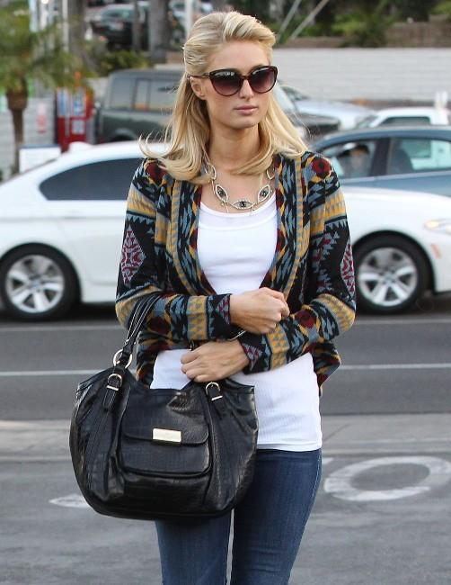 Paris Hilton et River Viiperi, Los Angeles, 28 février 2013.