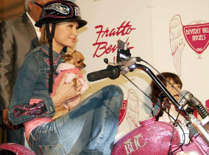 Paris Hilton pleure la mort de son célèbre chihuahua Tinkerbell...