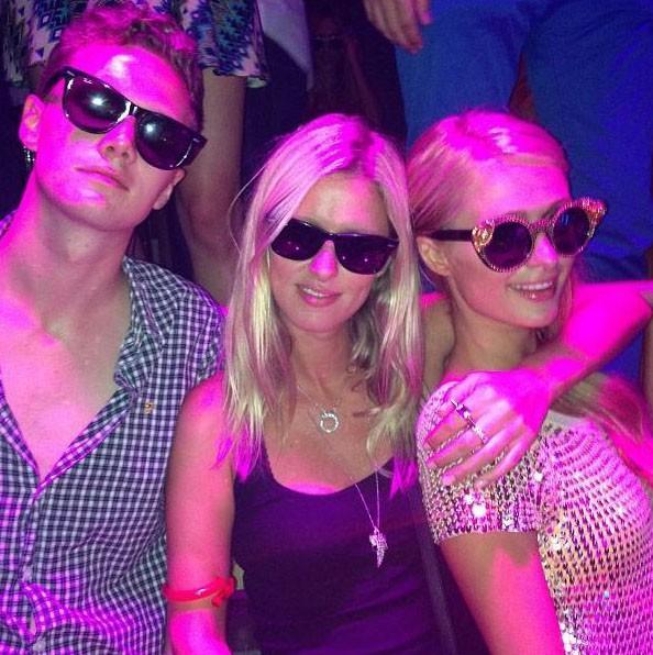 Le trio Hilton à Ibiza !