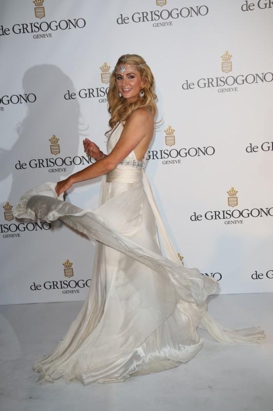 Paris Hilton à la soirée De Grisogno