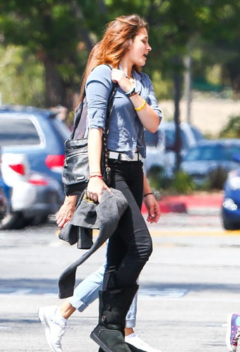Paris Jackson à Los Angeles le 26 mars 2014