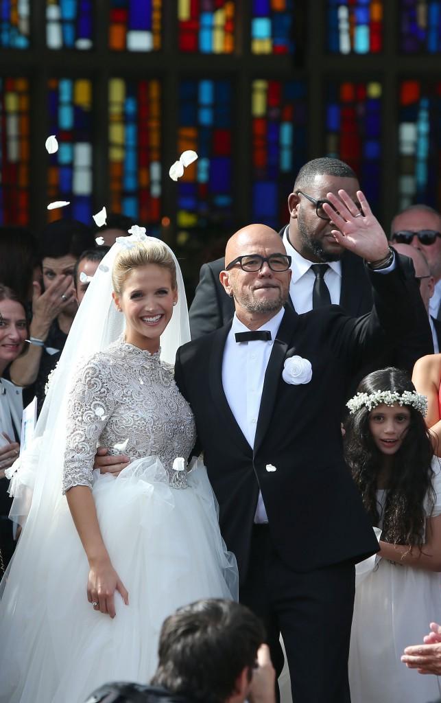 """Photos : Pascal Obispo a dit """"oui"""" à Julie Hantson !"""
