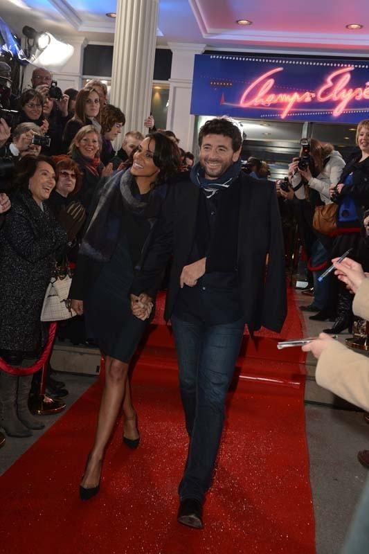 Patrick Bruel à l'enregistrement de Champs-Elysées, à Paris, le 7 février 2013