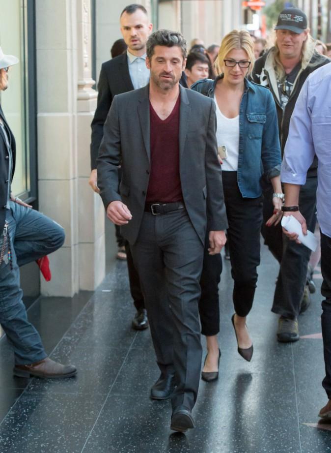 Patrick Dempsey à Los Angeles le 16 avril 2015