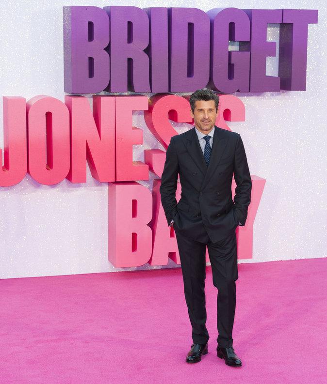 """Patrick Dempsey à l'avant-première de """"Bridget Jones's Baby"""" à Londres ce lundi 5 septembre 2016"""