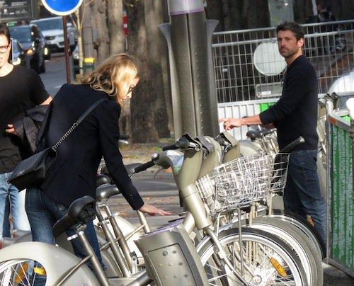 Photos : Patrick Dempsey : rien de tel qu'une escapade à Paris pour reconquérir son ex !