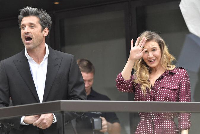 """Patrick Dempsey et Renée Zellweger à Sydney pour la promotion du film """"Bridget Jones 3"""""""
