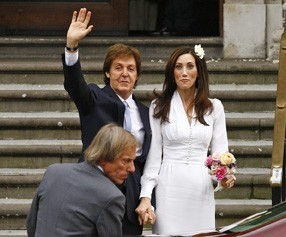 L'ex-Beatles a choisi de se marier en toute simplicité !