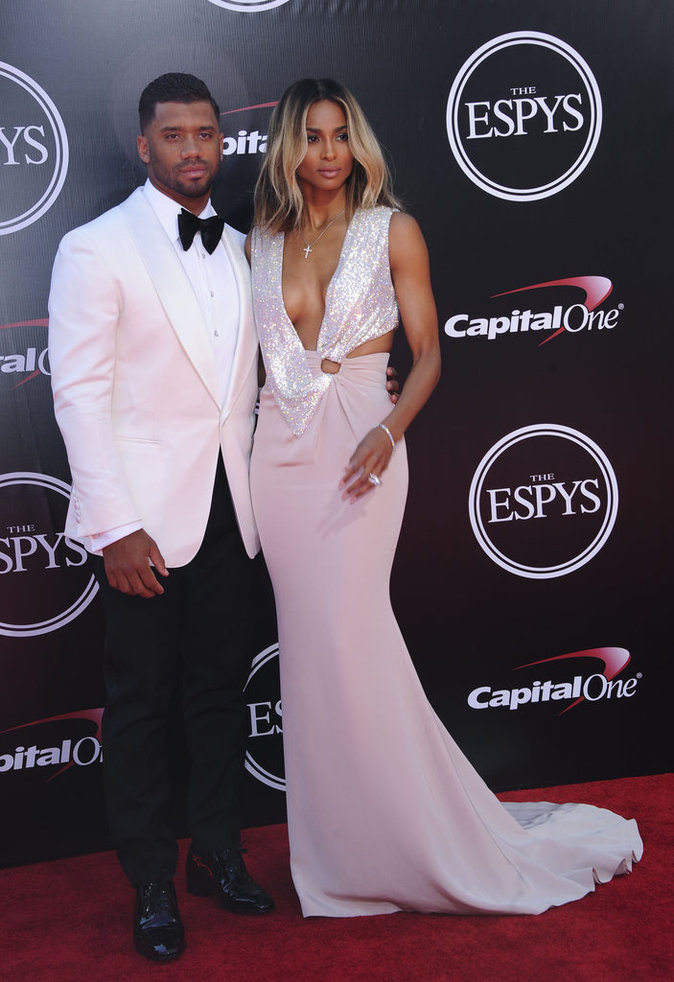 Ciara et Russell Wilson