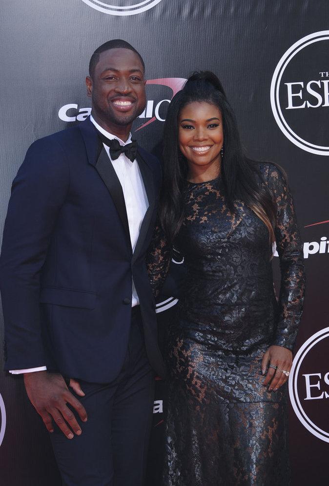 Dwayne Wade et Gabrielle Union