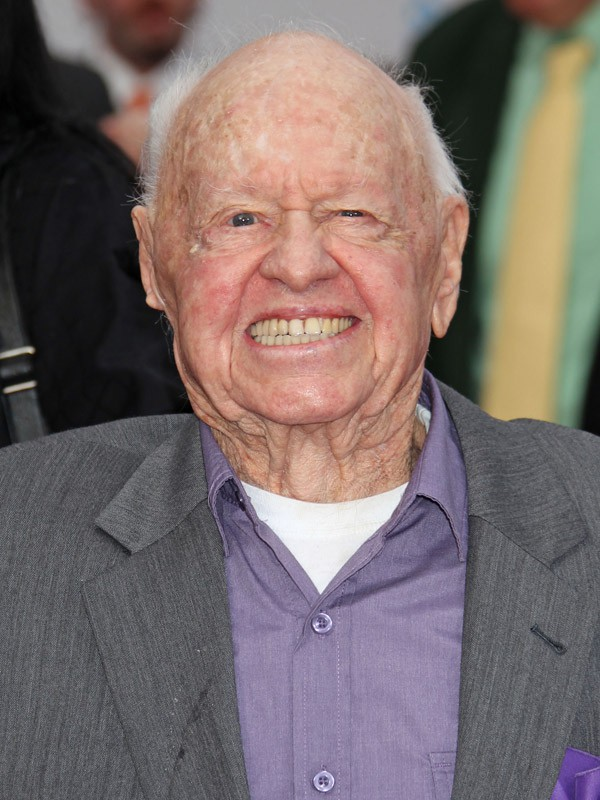 Mickey Rooney (93 ans)