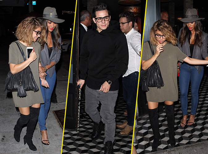 Pendant que J-Lo travaille, Casper Smart s'�clate avec Nicole Scherzinger et Sarah Hyland !
