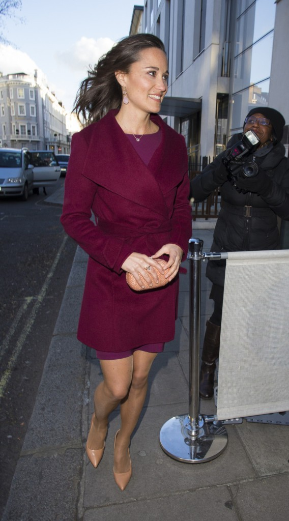Pippa Middleton le 31 mars 2015