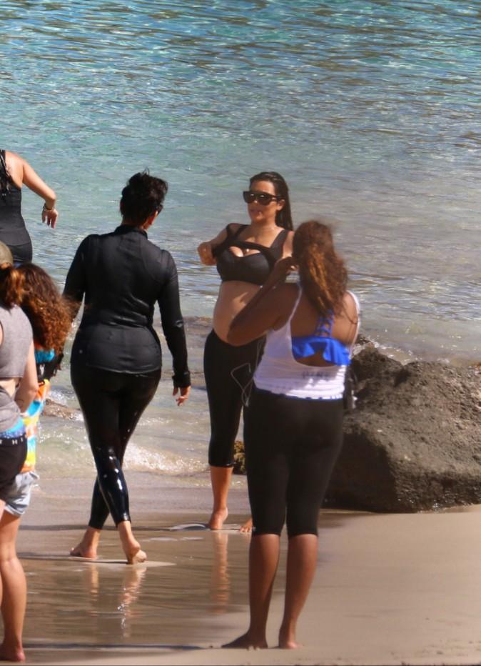 Kim Kardashian le 18 août 2015