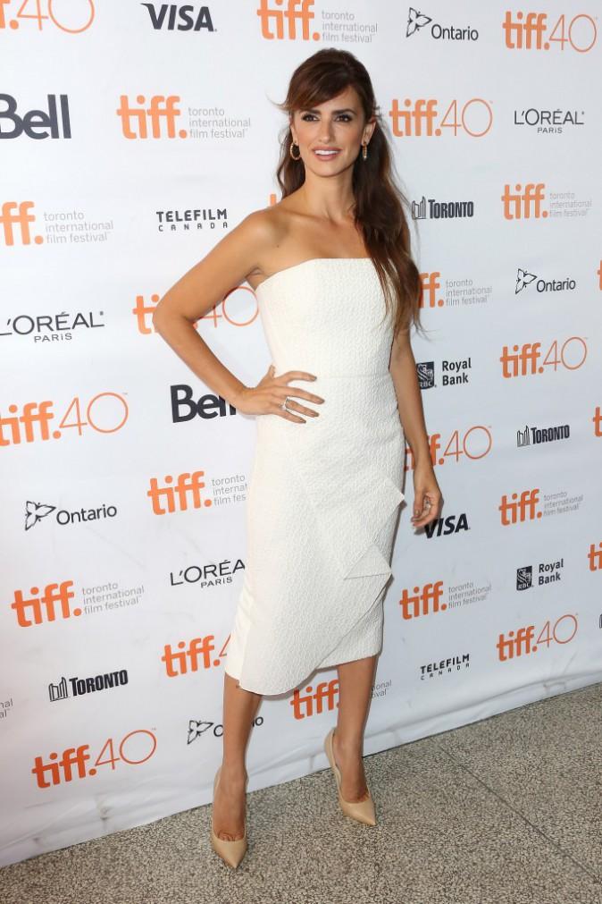 Penelope Cruz à Toronto le 15 septembre 2015