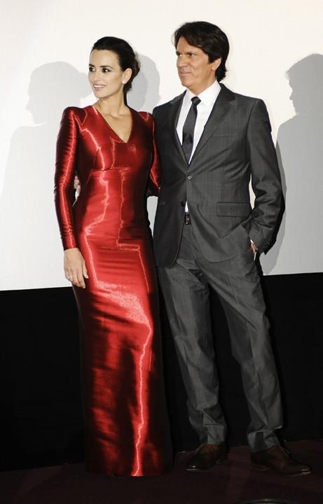 Penelope Cruz et Rob Marshall lors de la promo de Pirates des Caraïbes à Munich, le 16 mai 2011.