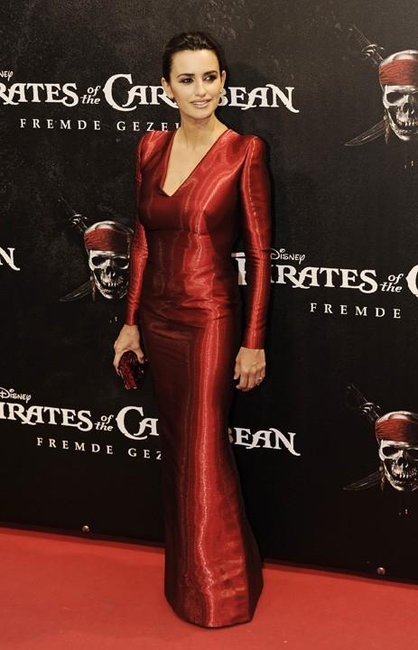 Penelope Cruz lors de la promo de Pirates des Caraïbes à Munich, le 16 mai 2011.