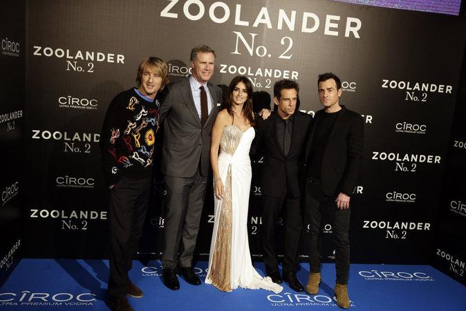 L'équipe de Zollander 2 a mis le feu sur tapis rouge !