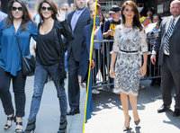 Photos : Penelope Cruz : casual chic vs classy : son fashion marathon matinal !