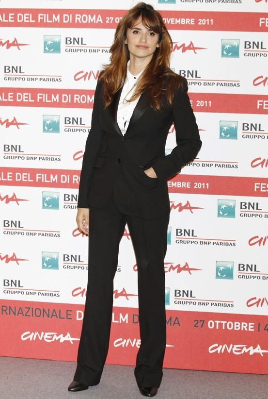 """Penelope Cruz lors de la première du film """"Venir au monde"""" à Rome, le 26 octobre 2011."""