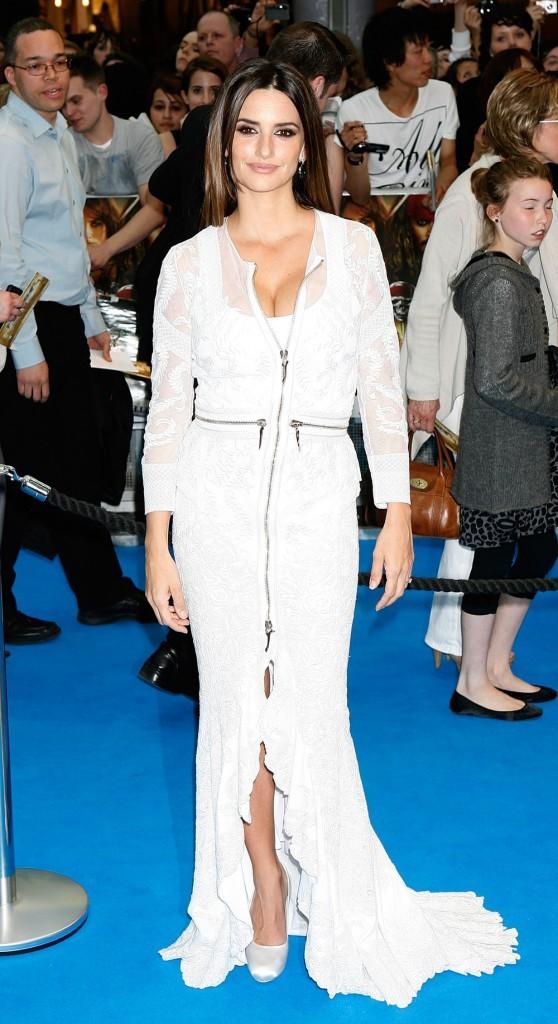 Penelope Cruz lors de l'avant-première londonienne de Pirates des Caraïbes 4, le 12 mai 2011.