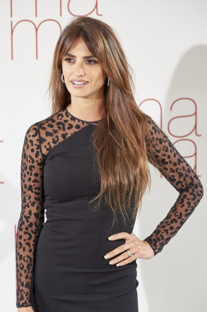 Penelope Cruz à Madrid le 8 septembre 2015