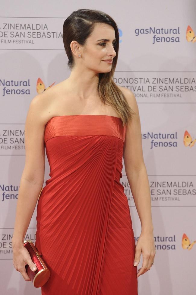Penelope Cruz le 25 septembre 2012 à San Sebastian