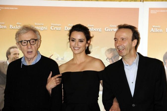 Bien accrochée à Woody Allen !