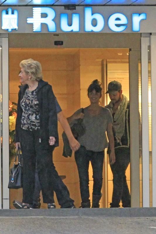 Penelope et Eduardo Cruz à Madrid, le 14 mai 2013.