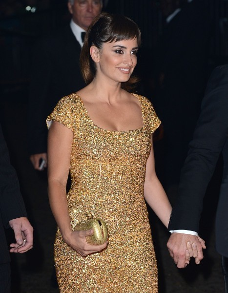 Penelope Cruz lors de l'after-party du film Skyfall à Londres, le 23 octobre 2012.